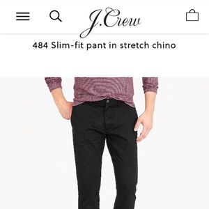 🎉SALE🎉J. Crew 484 slim pant chino stretch
